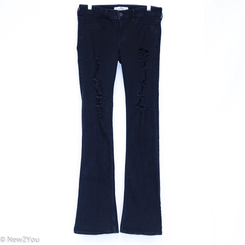 Black Distressed Skinnies (Hollister) - New2You LX