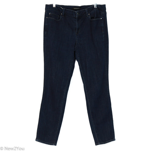 Traditional Dark Blue Jeans (Ann Taylor)