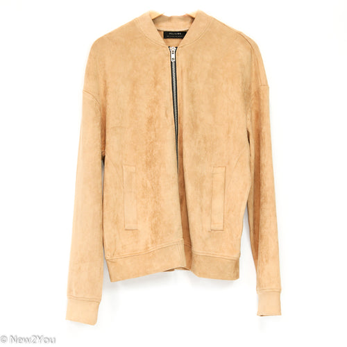 Camel Suede Jacket (Religion) - New2You LX