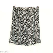 Load image into Gallery viewer, Black&White Geometric Skirt (Ann Taylor) - New2You LX