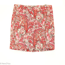 Load image into Gallery viewer, Paisley Print Skirt (Ann Taylor)