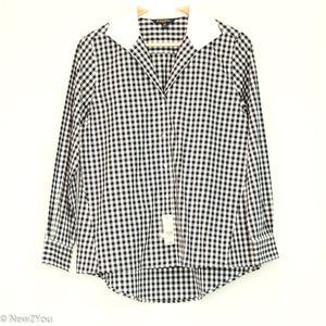 Blue&White Checkered Button Up (Brooks Brothers) - New2You Lx