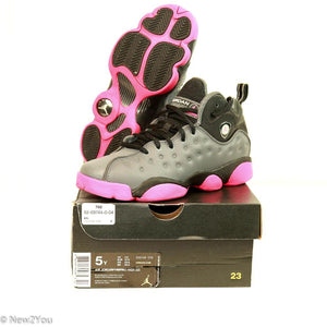 Nike Air Jordan Shoes Jumpman Team II Gray Black Pink Sneaker