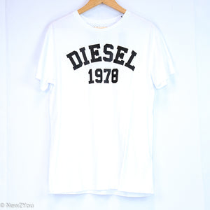 White Round Neck (Diesel) - New2Youlx