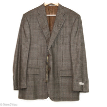 Load image into Gallery viewer, Brown Plaid Blazer (Canali) - New2You LX