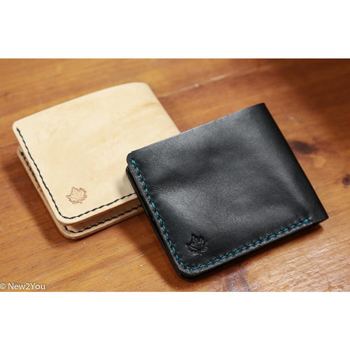 (BWEISS) Leather Bifold Poly Thread Wallet - New2You LX