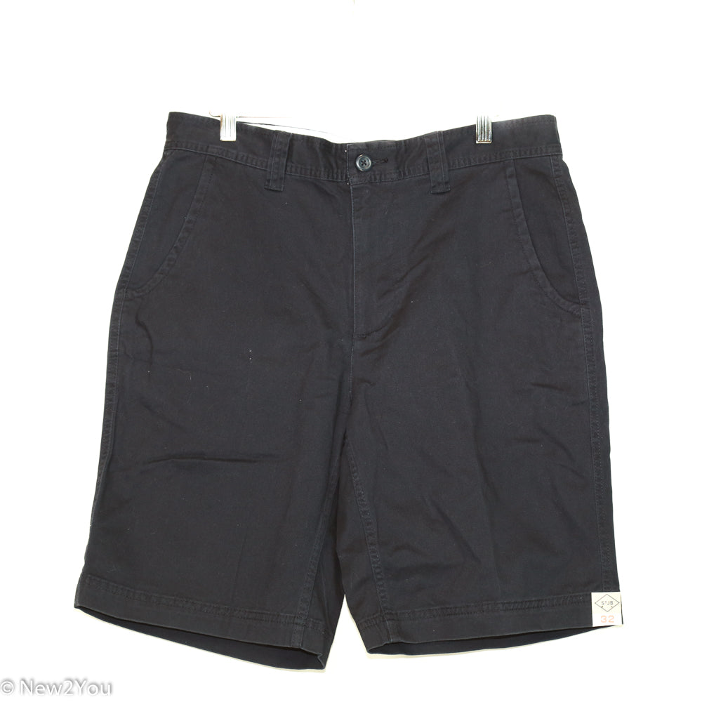 Men's Blue Aviator Navy Casual Shorts (St. Johns Bay)