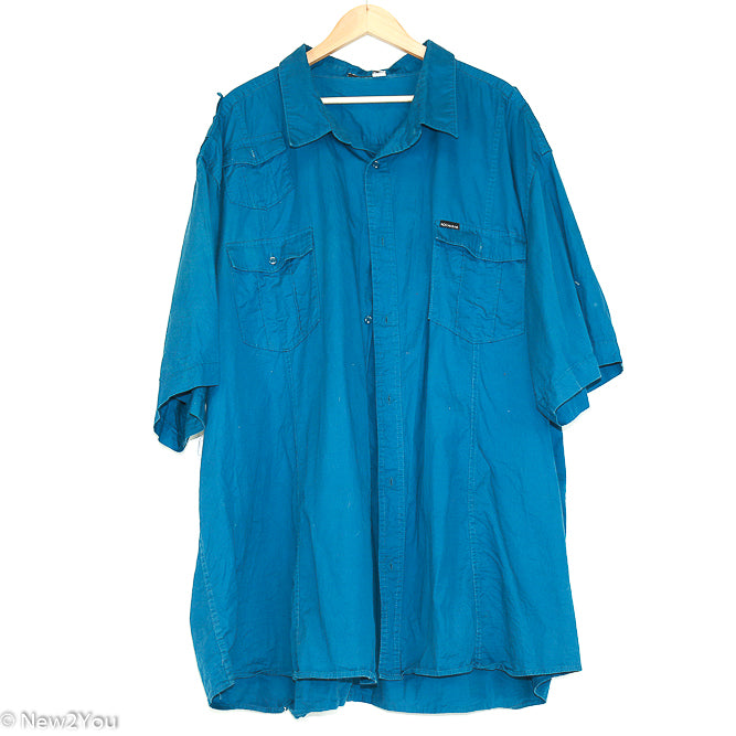 Blue Button Up Shirt (Rocawear) - New2You Lx