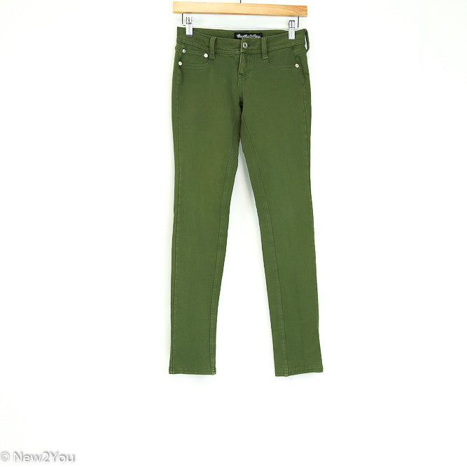 Army Green Skinnies (Vanilla Star) - New2You Lx