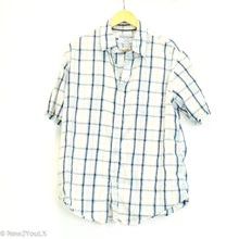 Load image into Gallery viewer, Plaid Short Sleeve Button Up (Croft & Barrow)