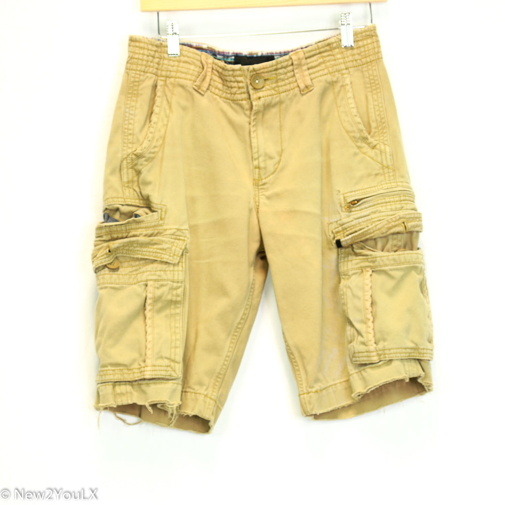 Hurley Tan Cargo Shorts New2You LX