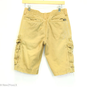 Tan Cargo Shorts (Hurley)