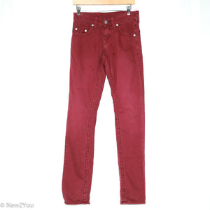 Wine Slim Cut Skinnies (True Religion)