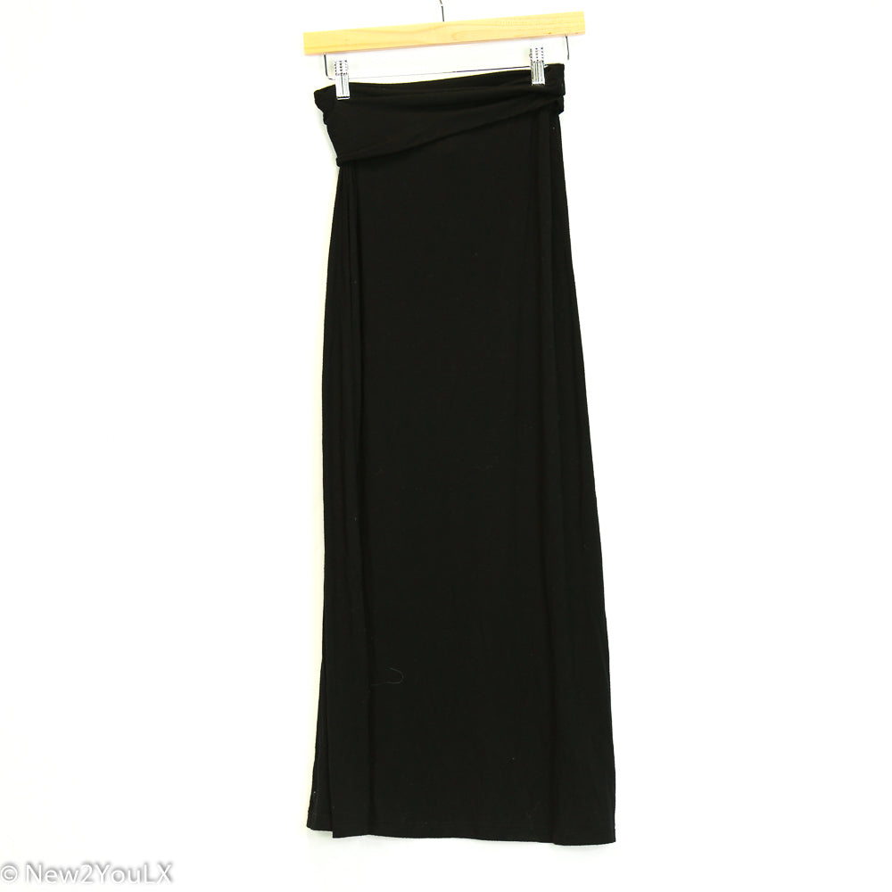 Black Maxi Skirt (Full Tilt)