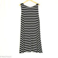 Load image into Gallery viewer, Black and white tank dress New2You LX