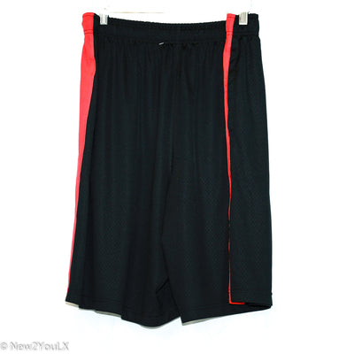 Black Red and White Basketball Shorts (Nike)