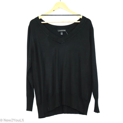 V neck knit sweater (lane bryant) new2you lx