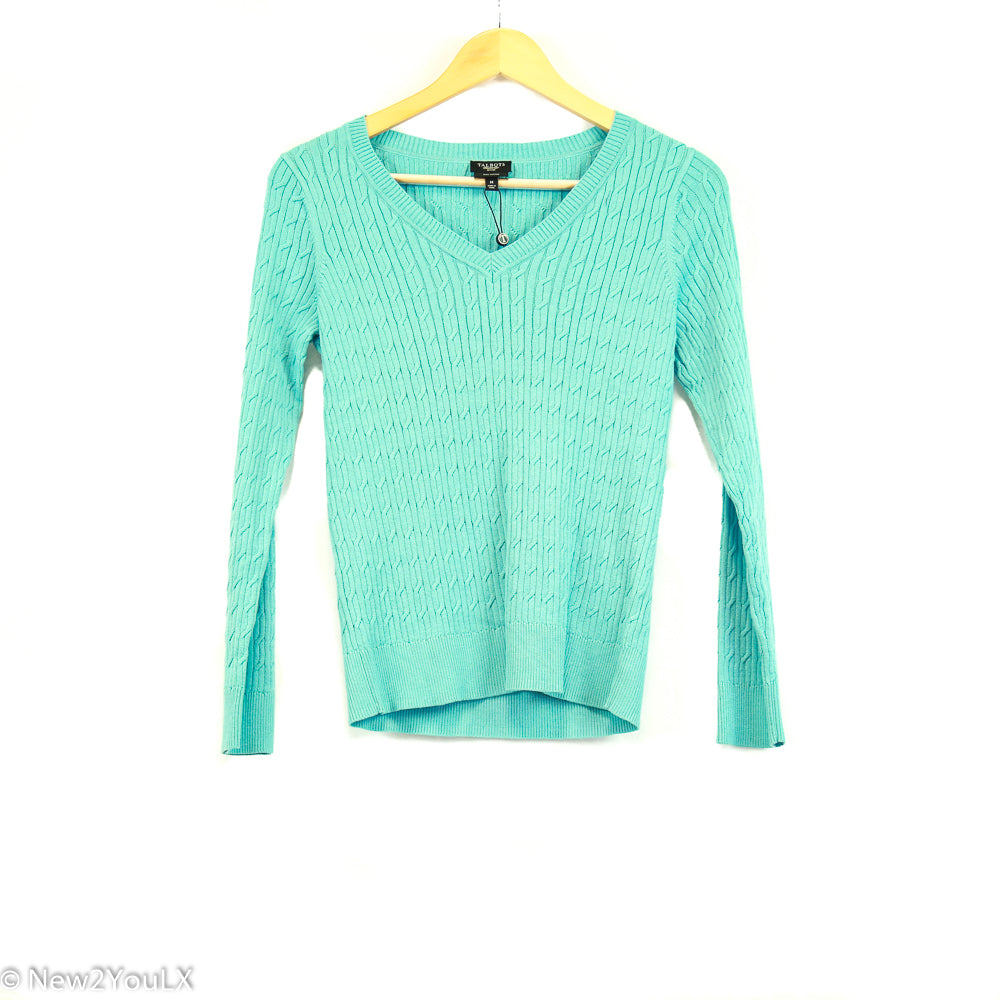 blue pullover shirt (talbots) new2you lx