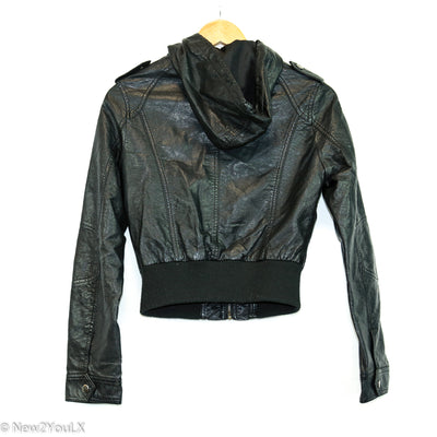 Black Leather Jacket (Paper Doll)