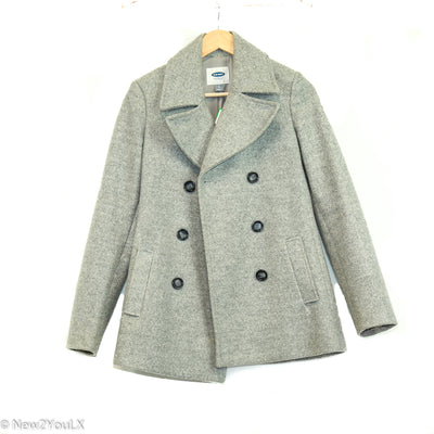 grey peacoat (old navy) new2you lx