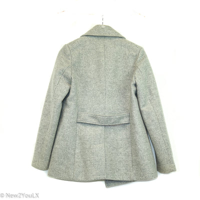 Light Grey Peacoat (Old Navy)