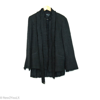 black jacket and skirt set (lafayette 148) new2you lx