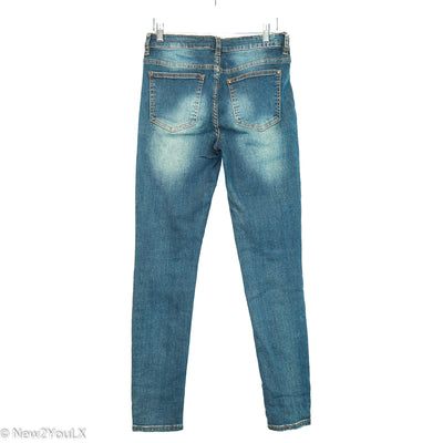 Patchwork Blue Jeans (Tinsel Town)