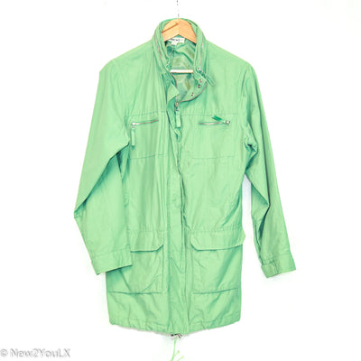 mint green windbreaker jacket (cherokee) new2you lx