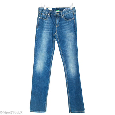 Medium Wash Real Straight Jeans (GAP) new2you lx