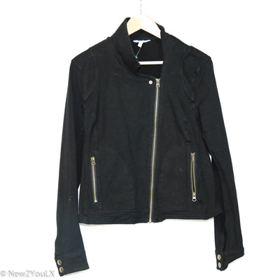 Black Zip Up Jacket (Tru) new2you lx