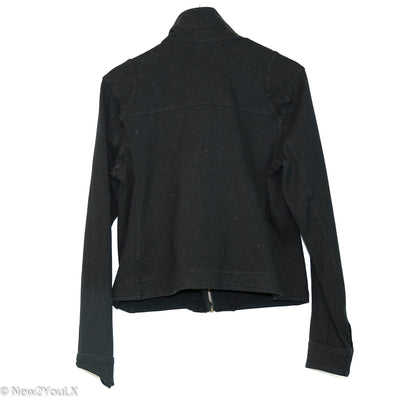 Black Zip Up Jacket (Tru)