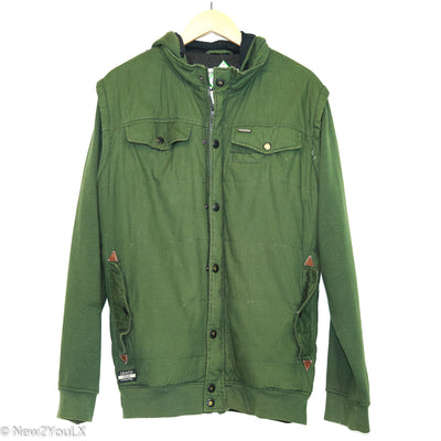 Forrest Green Winter Coat (Dravus) new2you lx