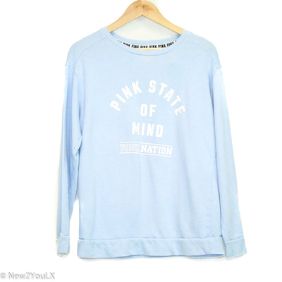 Baby Blue Graphic Pullover (Pink) new2you lx