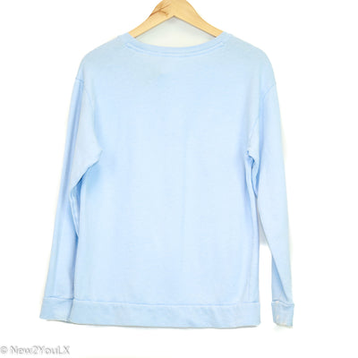 Baby Blue Graphic Pullover (Pink)