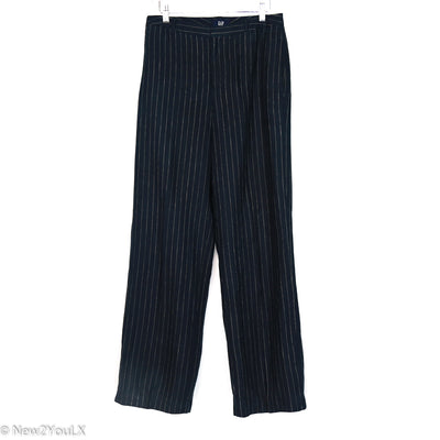 The Gap Navy Pinestripe Pants,  New2YouLX New 2 You New2You