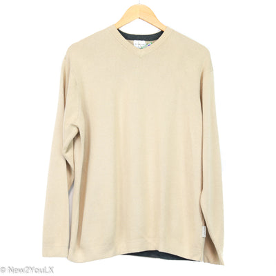 Calvin Klein Sand V Knit Pullover New2You New2YouLX
