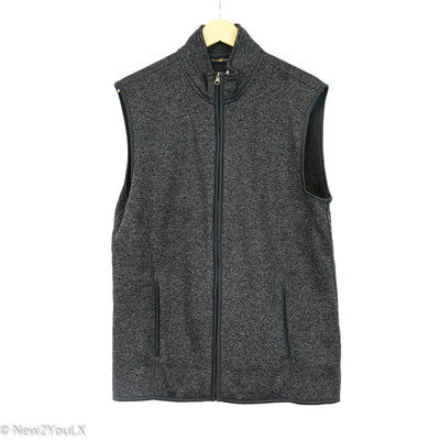 Club Room Grey Knit Vest