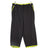 Black W/ Green Stripe Workout Pants (Made)