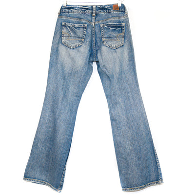 Light Wash Straight Cut Jeans (A.E.O)