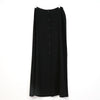Ellen Tracy Black Button Full Skirt