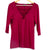Purple Cross Chest Blouse (Torrid)