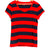 Red/Navy Stripe Tee (Tommy)