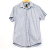 J. Ferrier Light Blue w/ Polka Dots Button Up