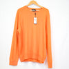 Ralph Lauren Orange Cashmere Pullover Polo