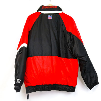 Black/Red/White Buccaneers Puff Pullover (NFL)