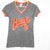 Grey/Orange SF Giants Tee