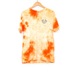 True Religion Orange Tie Dye T-shirt