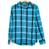 Vans Blue and Black Pale Flannel