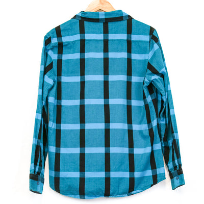 Blue/Black Plaid Flannel (Vans)