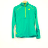 Adidas Green Zip Up Pullover Jacket